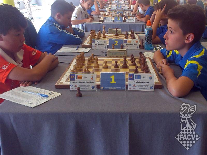 sub 12 España ajedrez