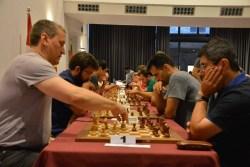 Julen Arizmendi en el Campeonato de España de Ajedrez