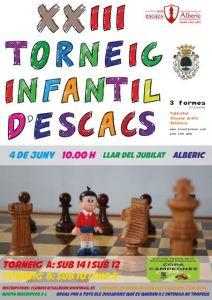 Torneo alberic infantil