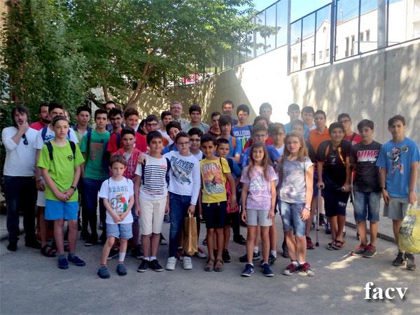 formación jóvenes ajedrecistas