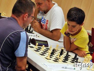 jugadores del torneo de ajedrez