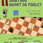 torneo ajedrez quart de poblet