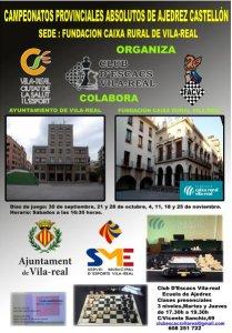 cartel campeonato procincial castellón