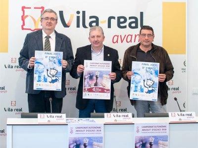 rueda prensa torneo ajedrez Vila-real