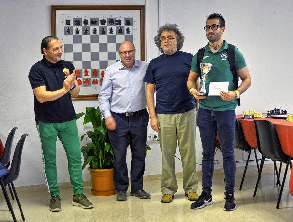 vencedor torneo ajedrez Elx