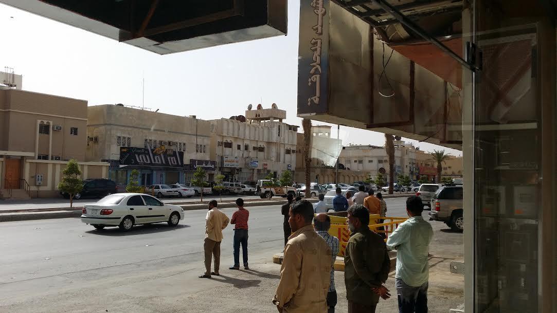 صور وتفاصيل القبض على السعودي قاتل الهندي 1435 صور مضاربة شارع