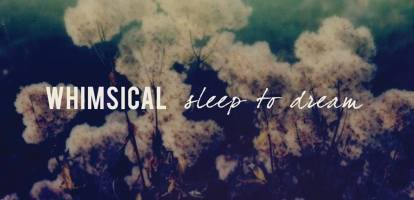 Whimsical – Sleep to Dream