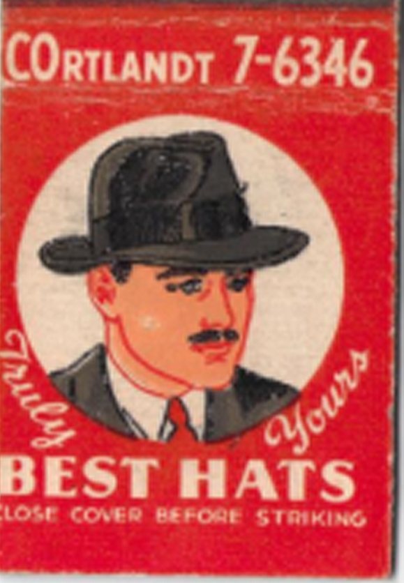 5c809195917b Young s Stetson Hats – Clearance Center – 139 Nassau Street
