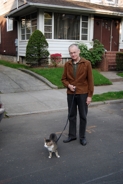 Cat About Town - Tiger & John Schuster