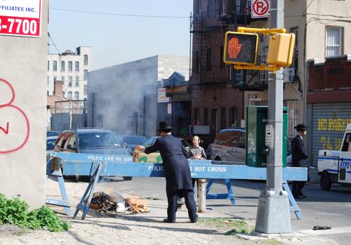 Burning the Bread on Flushing Avenue