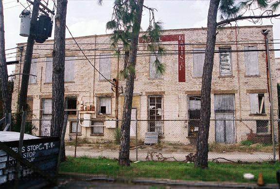Derelict Hotel Batiste