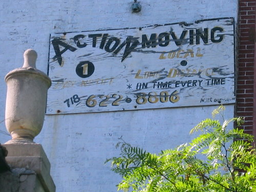 Action Moving - seen off Bedford Avenue - Bed-Stuy, Brooklyn