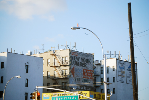 New York Lumber (extant) - Utica Avenue & Empire Blvd - Crown Heights, Brooklyn