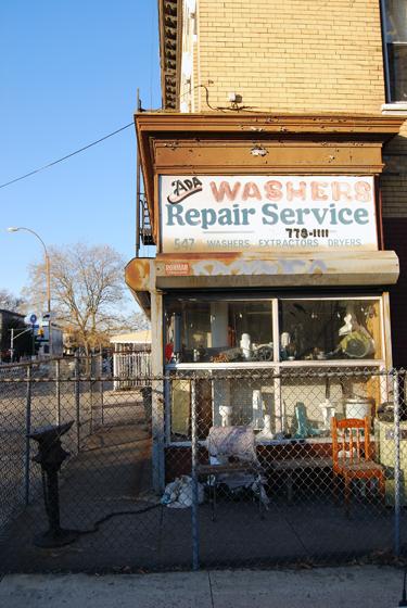 Ada's Washers & Repair Shop - Rogers Avenue, Brookyn
