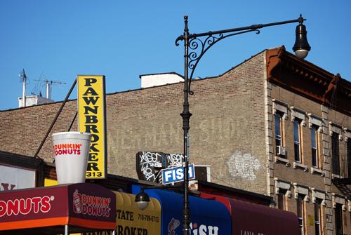 Newmans Shop - Fulton Street - Bed-Stuy, Brooklyn - © Frank H. Jump