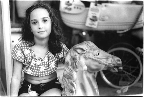 Russian Girl On Hobby Horse - Kings Highway - Midwood