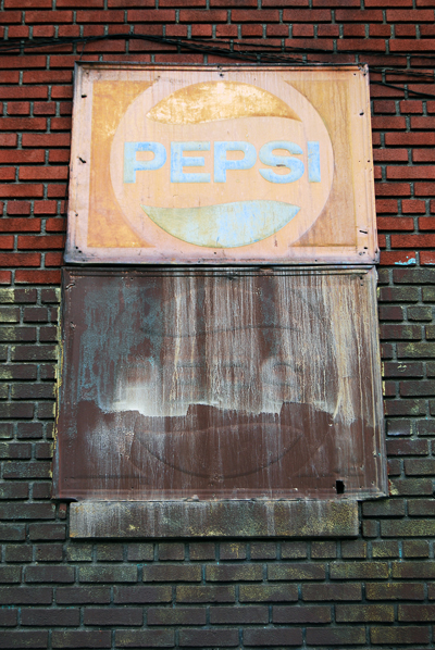 Ocean Hill Pepsi Sign