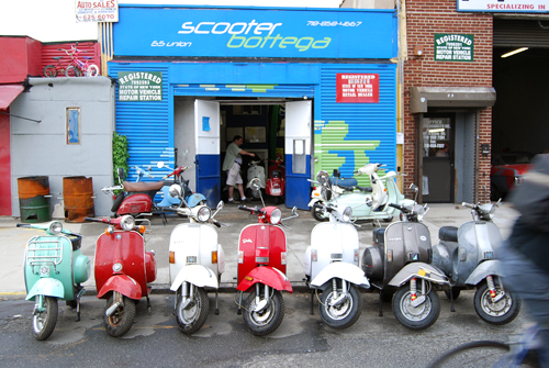 Scooter Bottega - Red Hook