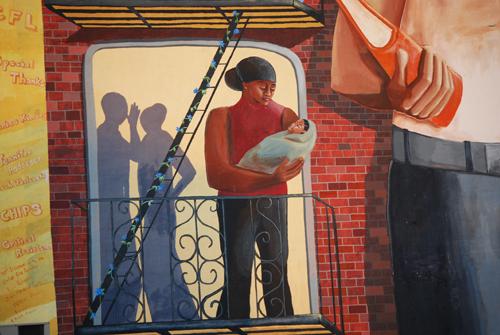 Slope Mural - Fourth Avenue & Sackett Street