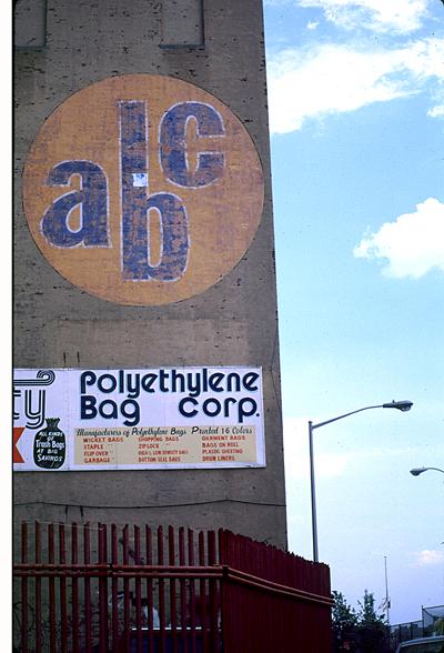 ABC - Polyethylene Bag Co - South Williamsburg, Brooklyn 1999