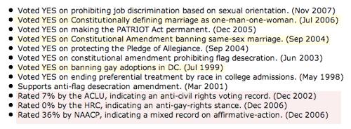 Fossella on Civil Rights