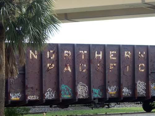 Nothern Pacific Railroad - Ft Lauderdale, FL