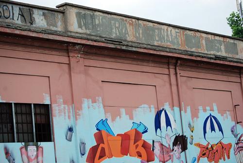 Torino Graffiti - Industria Nationale - © Frank H. Jump