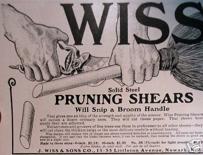 Wiss Pruning Shears