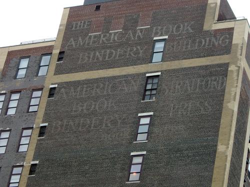 American Book Bindery Building - West 30th Street, NYC