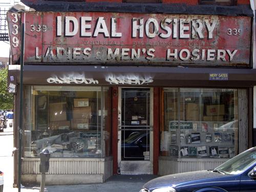 Ideal Hosiery - Grand Street, NYC