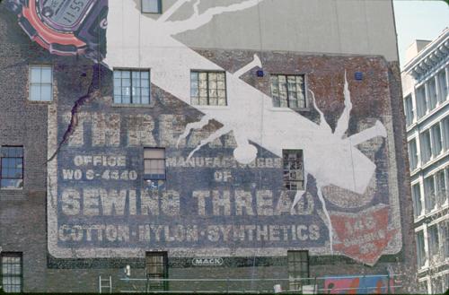 Thread Mills - Mack Sign