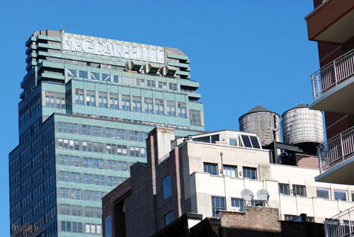 McGraw-Hill Bldg - Water Towers