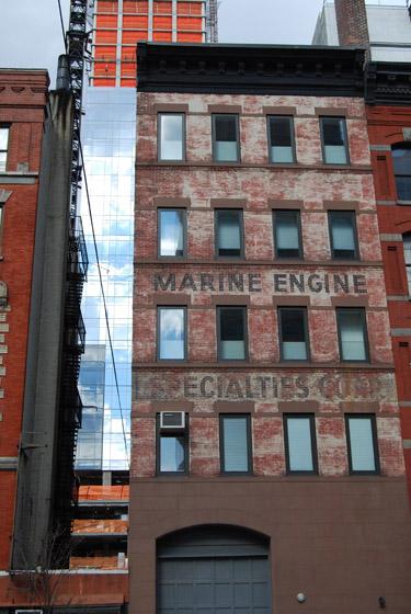 Marine engine specialties corp broome street soho for Mural on broome street