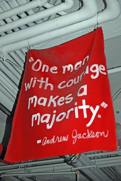 Andrew Jackson on Courage