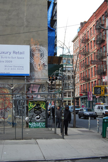 Luxury Retail - Wooster Street