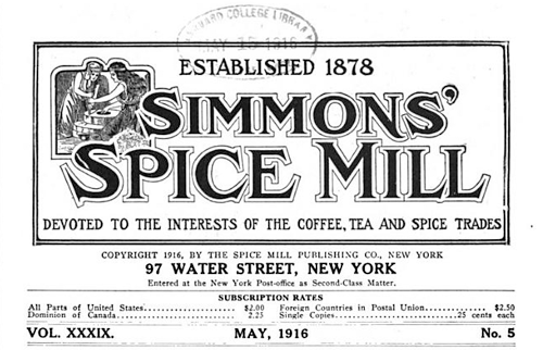 Simmons Spice Mill - Google Books