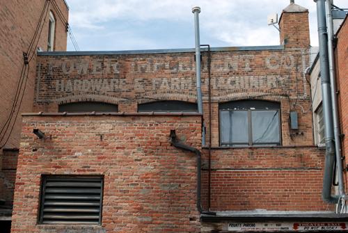 Hardware & Farm Machinery - ©Frank H. Jump