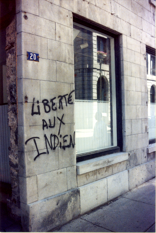 Freedom for Indians © Frank H. Jump