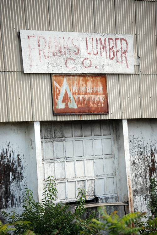 Franks Lumber - Wilkes-Barre, PA - © Frank H. Jump
