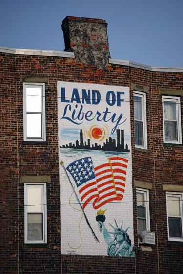 Jersey City, Land of Liberty