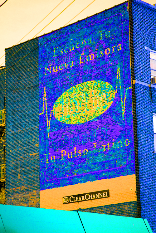Listen To Your New Broadcasting Station - Your Latino Pulse-J.F. Kennedy Blvd - Union City, NJ - © Frank H. Jump