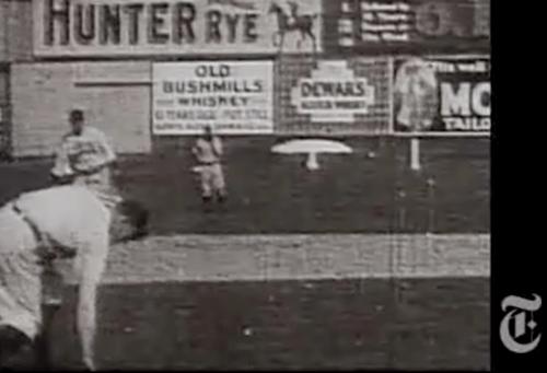 Christy Mathewson @ Yankee Stadium - NY Times