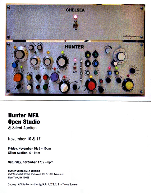 Michael Berube Invites You to the Hunter College MFA Open Studios