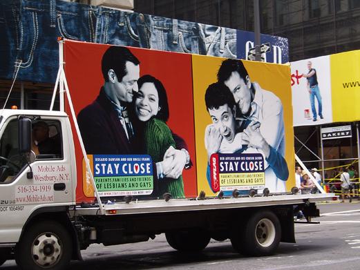 PFLAG Pride Truck 2006