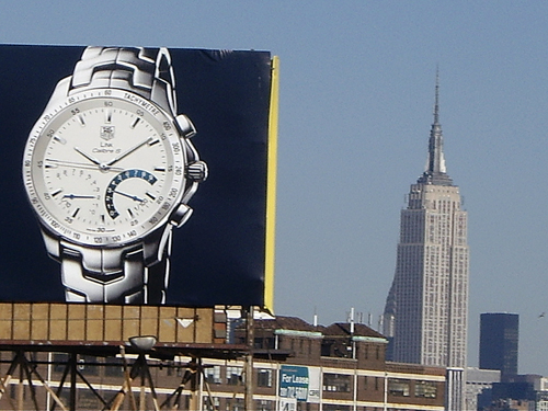 Is It Just A Matter Of Time - NYC view from Holland Tunnel Entrance Approach