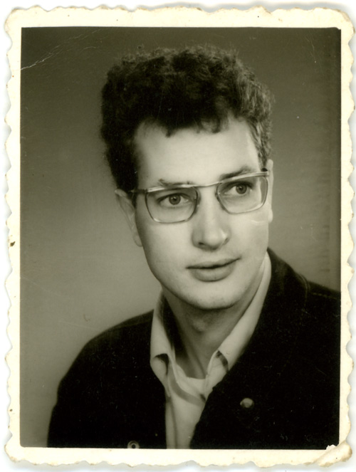 Frans as a young adult.