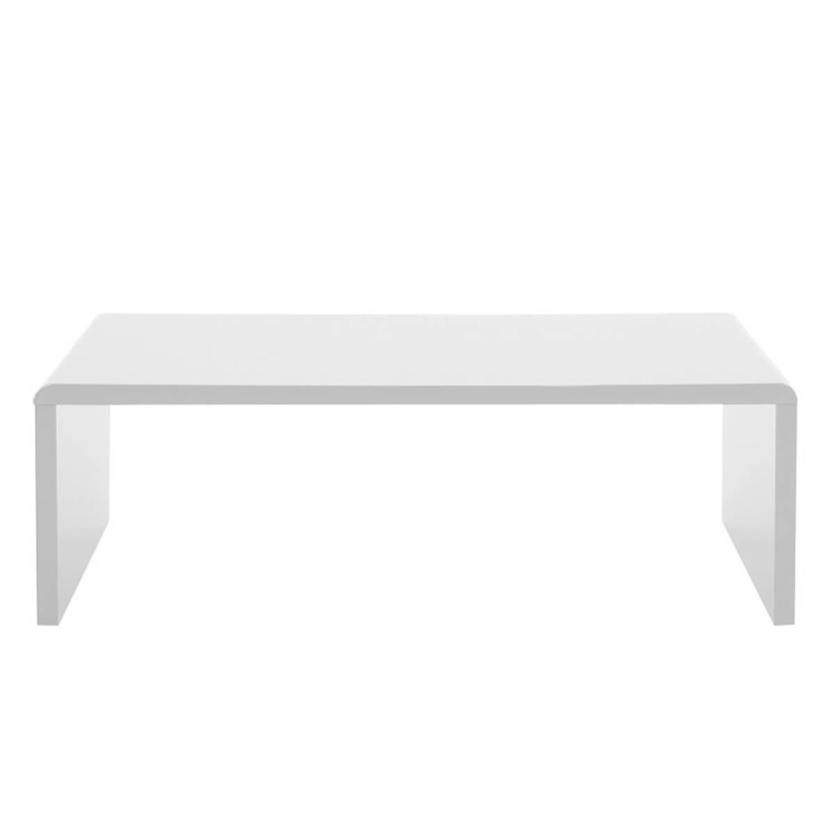 sasha white high gloss coffee table