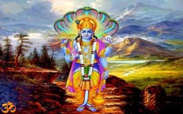05. Imagen de Vishnú, cuya novena encarnación es el Buda - Foto bit.ly 1G8xjVg