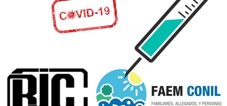 FAEM SOLICITA VACUNACIÓN PRIORITATIRA FRENTE AL COVID PARA PERSONAS AFECTADAS POR PROBLEMAS DE SALUD MENTAL