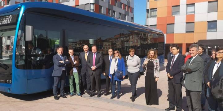 ALSA prueba en Oviedo el primer autobús urbano totalmente eléctrico